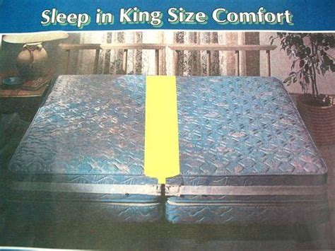 Mattress Combiner - bed joiner matress connector by regal 8 99