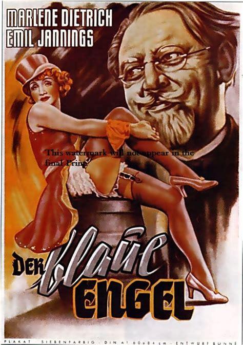 film blue german art print marlene dietrich der blaue engel movie