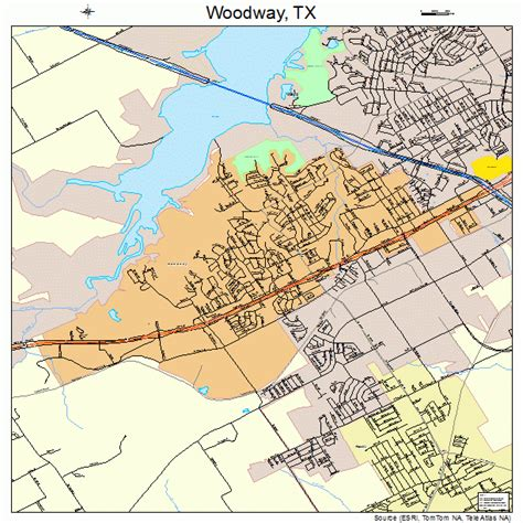woodway texas map woodway texas map 4880224