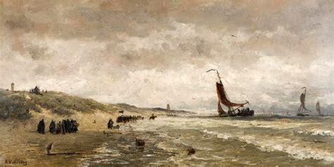 Cache Vis A Vis 1665 by Hendrik Willem Mesdag 1831 1915 Aankomst De