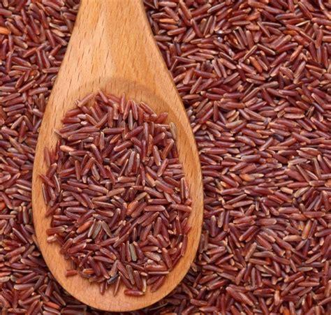 Beras Hitam Organik Lapar Sehat 1 Kg Sumber Vitamin B jual benih beras merah padi merah organik bibitbunga