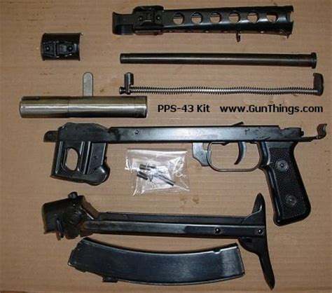 Pps Background Check Wts Pps43 Kits Pps43 Trunnions And Flats Ppsh41 Kits