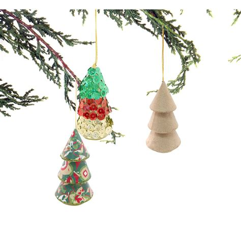 paper mache hanging christmas tree decopatch and paper