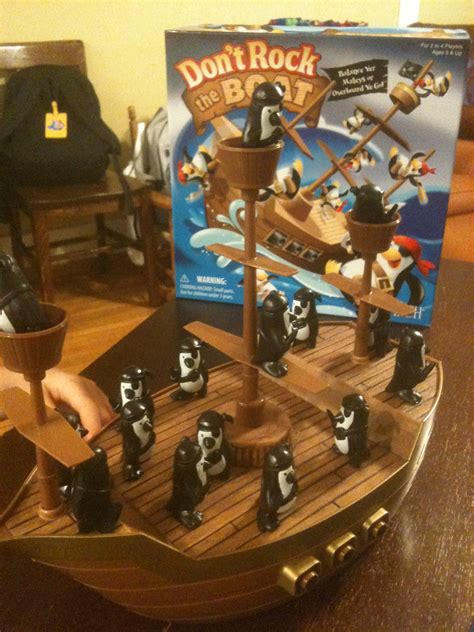patch don t rock the boat product review don t rock the boat board game real