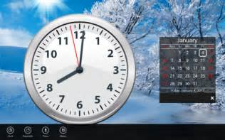 how to add a clock showing the time on the windows 8 start