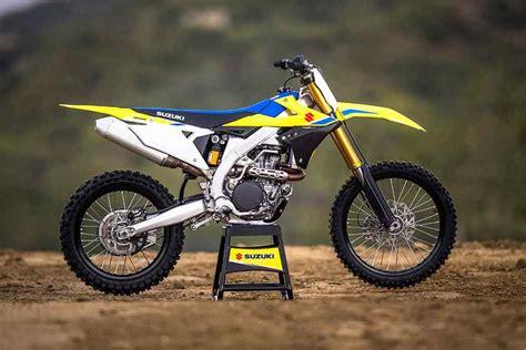 Suzuki Motorrad News 2018 by 2018 Suzuki Rm Z450 Motocross Bike Unveiled Motorcycle News