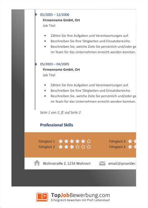 Lebenslauf Skills Profi Lebenslauf Vorlagen Sommeraktion 2014 Top Bewerbung
