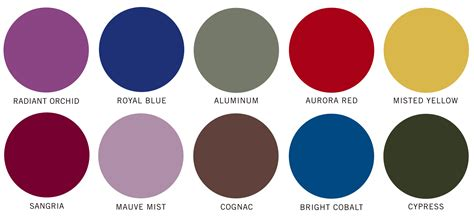 top colors pantone s top 10 colors for fall 2014 burdgecooper