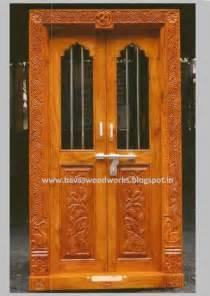 Room Door Frame Bavas Wood Works Pooja Room Door Frame And Door Designs