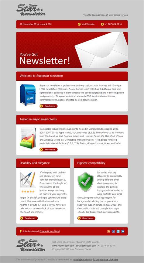 themeforest newsletter superstar newsletter by gifky themeforest