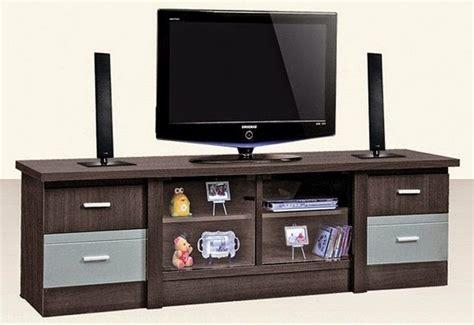 Meja Tv Merk Olimpic model rak tv minimalis modern desain denah rumah