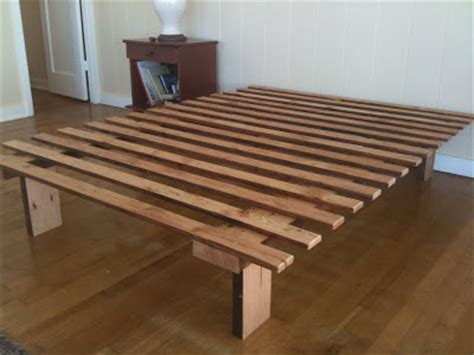 thinking furniture   simple bed frame