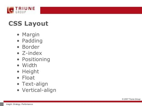 css layout strategies cascading style sheets css