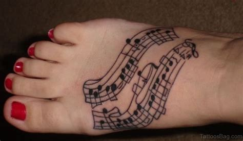 fools tattoo chords 52 adorable musical note tattoo on foot