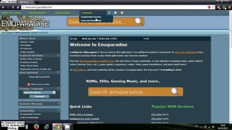 emuparadise not working تحميل العاب ps2 psp pc مجانا من موقع emuparadise youtube