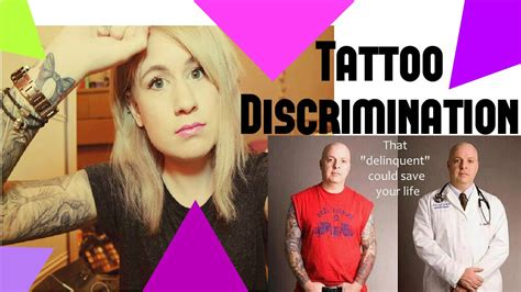 tattoo discrimination discrimination