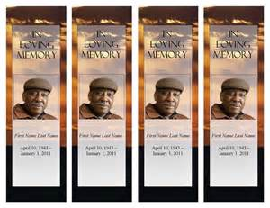 Free Memorial Bookmark Template by Funeral Program Templates Memorial Bookmark Template