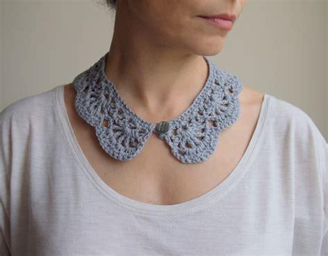 collared cowl free crochet pattern crochet n create crochet pattern woman collar peter pan collar girl