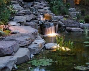 Waterfall Ponds Backyard 75 Relaxing Garden And Backyard Waterfalls Digsdigs