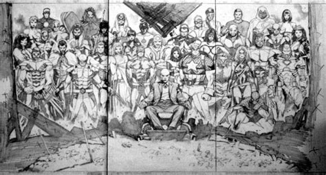 house of m 01 cover art by olivier coipel house of m 01 cover sketch art by olivier coipel zoom comics daily comic book wallpapers
