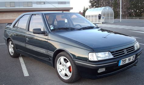 peugeot 405 mi16 peugeot 405 technical details history photos on better