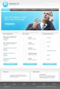 Template For Business Website Free Download Website Templates Blog 187 2009 August