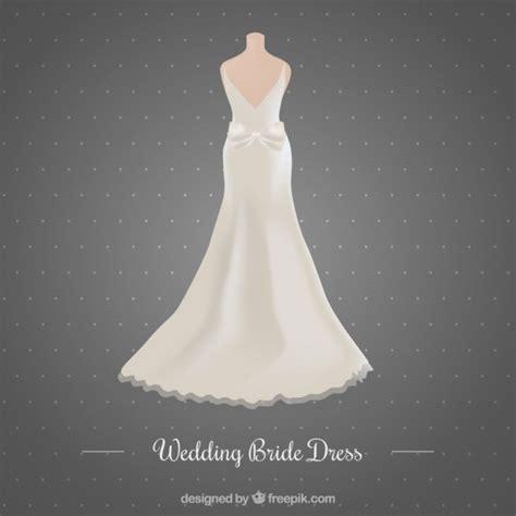 Wedding Dress Vector by Beautiful Wedding Dress Vector Free