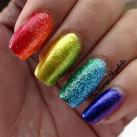 Nails Glitter s diary 31 days of nail challenge day 17 glitter