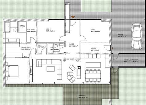 moderne bungalows grundrisse modernes wohnen auf einer ebene bungalow bauen