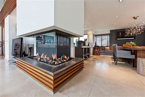 awesome beautiful dutch villa design modern fireplace open
