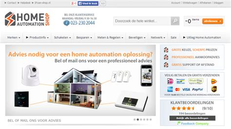 Case Study Ipcam Shop Nl Ip Cams And Home Automation In Hoofddorp Netherlands Magento Blog Home Automation Website Templates