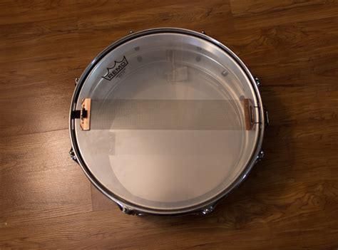 tutorial snare drum tying a ludwig supraphonic strainer the best way