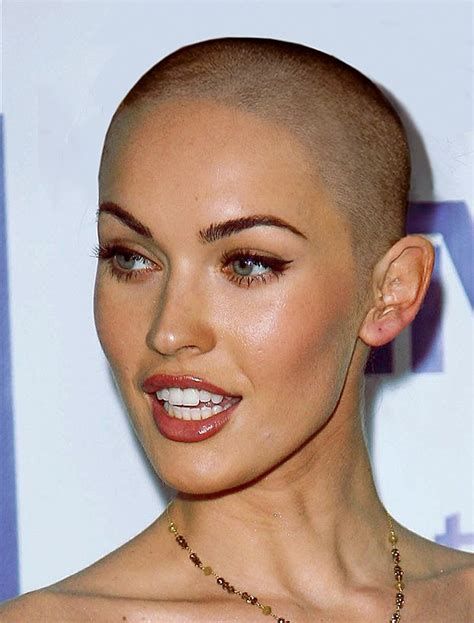 bald woman 2014 march baldness contestants still running smoothly