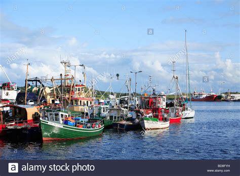 buy fishing boat ireland fishing boats killybegs harbour ireland stock photo