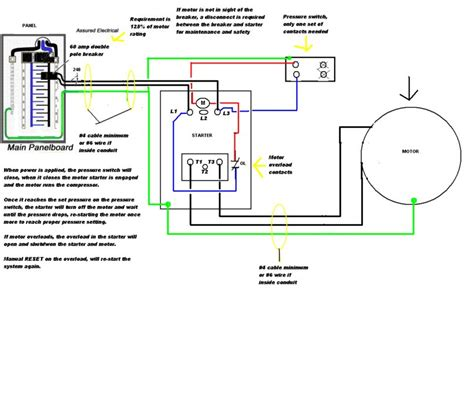 wiring diagram for 230v single phase motor air compressor wiring diagram 230v 1 phase efcaviation