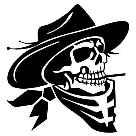 Pomade Skul cowboy skull vector illustration a photo on flickriver
