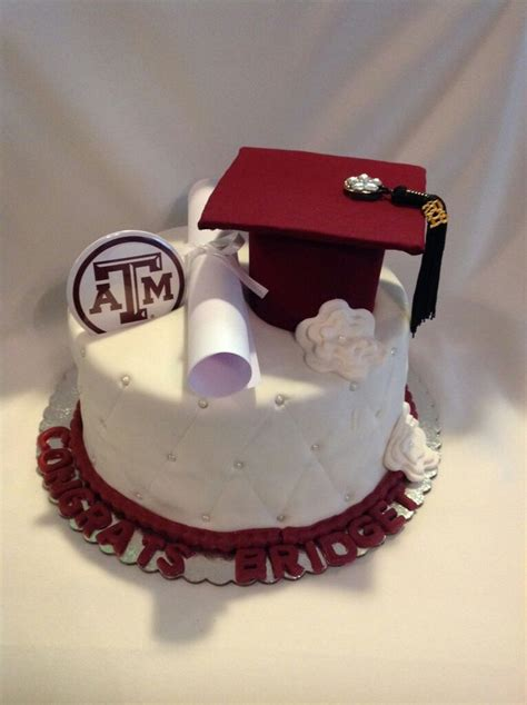 Graduation Cakes by Aggie Graduation Cakes Pictures To Pin On