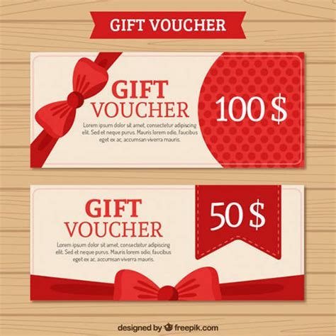 Gift Card Template Psd
