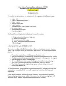 project proposals templates doc 585630 template for project project
