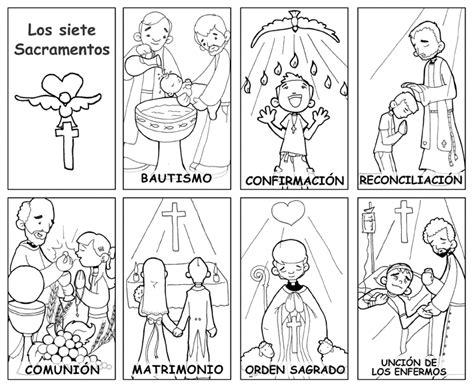 Dibujos De Los 7 Sacramentos | free coloring pages of los siete sacramentos