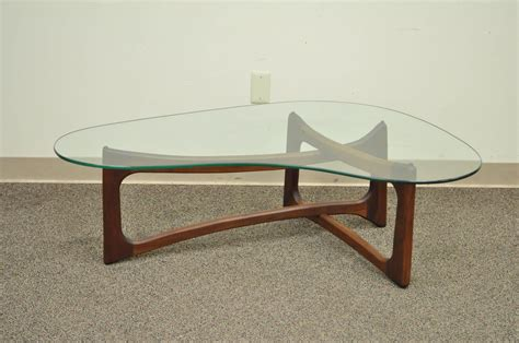 Vintage Mid Century Modern Adrian Pearsall Boomerang Adrian Pearsall Coffee Table For Sale