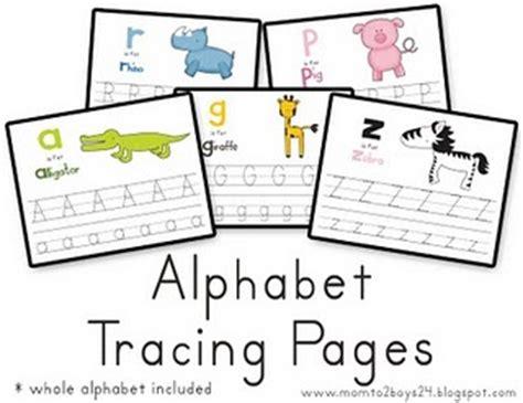 Printable Alphabet Money | educational freebie alphabet tracing pages money saving