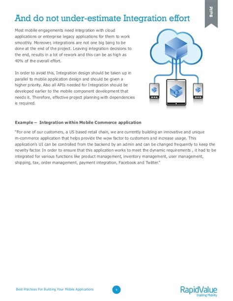 build mobile application best practices for building your mobile applications a