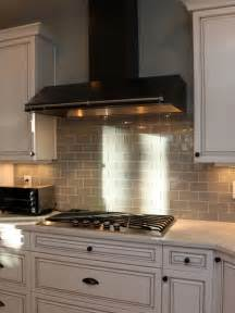 Houzz Kitchen Tile Backsplash by Grey Glass Tile Backsplash Houzz