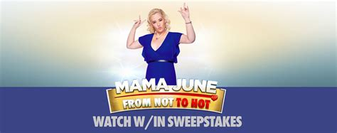 Sweepstakes Mama - mama june watch within sweepstakes thank you we tv