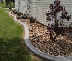 Landscape Edging Concrete Concrete Curbing