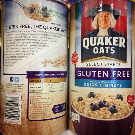 whole grain quaker oats nutrition facts quaker oats nutrition facts gluten dandk
