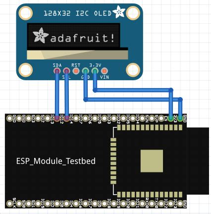 oled le demo 6 how to use arduino esp32 to display information on