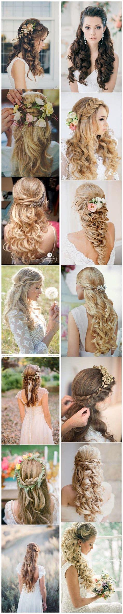 Half Up Half Wedding Hairstyles Tutorial by 40 Stunning Half Up Half Wedding Hairstyles With