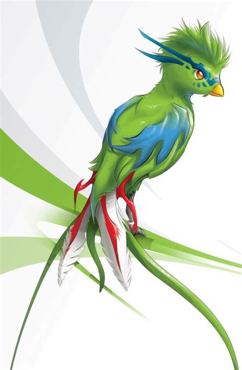 imagenes de quetzal a lapiz quetzal animado imagui